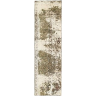 Hand Knotted Ultra Vintage Wool Runner Rug - 2' 4 x 8' 7