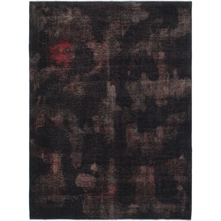 Hand Knotted Ultra Vintage Wool Area Rug - 5' 4 x 7' 2