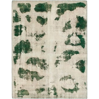 Hand Knotted Ultra Vintage Wool Area Rug - 9' 2 x 12'