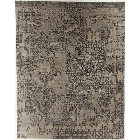"""Oushak Hand-Knotted Rug - 8'1"""" x 10'3"""""""