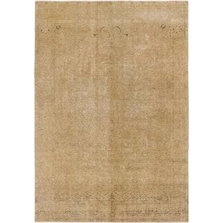 Hand Knotted Ultra Vintage Wool Area Rug - 7' 10 x 11' 2