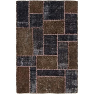 Hand Knotted Ultra Vintage Wool Area Rug - 2' 10 x 4' 4
