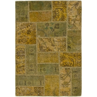Hand Knotted Ultra Vintage Wool Area Rug - 3' x 4' 3
