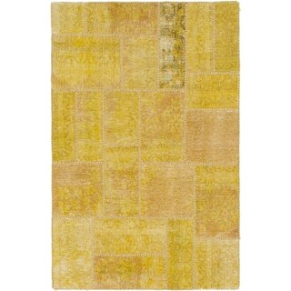 Hand Knotted Ultra Vintage Wool Area Rug - 3' 5 x 5' 3