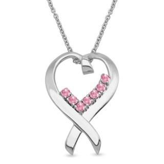 Sterling Silver Genuine Birthstone Pendant Necklace