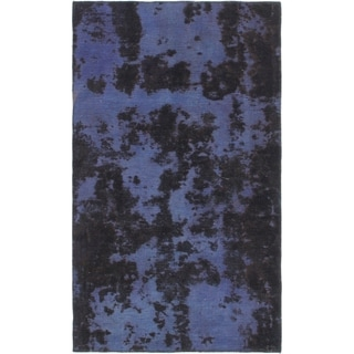 Hand Knotted Ultra Vintage Wool Area Rug - 3' 4 x 5' 10