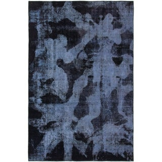 Hand Knotted Ultra Vintage Wool Area Rug - 7' 2 x 10' 10