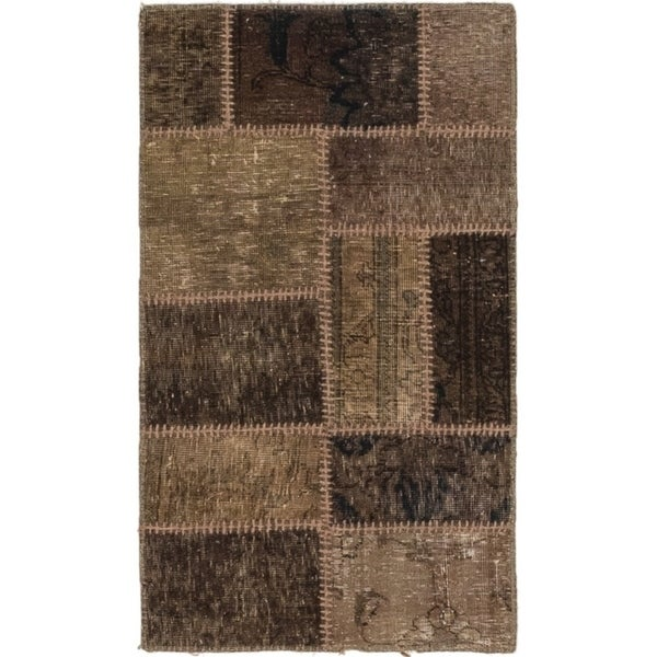 Hand Knotted Ultra Vintage Wool Area Rug - 2' x 3' 4