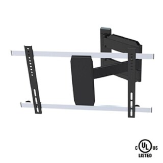 Fuji Labs Full-motion TV Wallmount for 37-60 inches. 25.6 inches Arm TV VESA 600x400