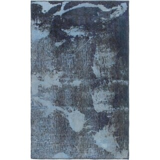 Hand Knotted Ultra Vintage Wool Area Rug - 2' 9 x 4' 8