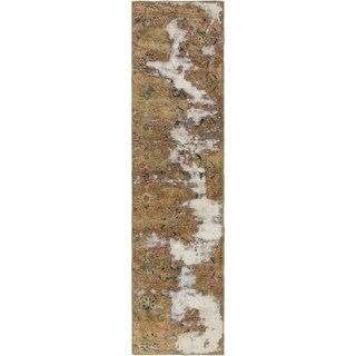 Hand Knotted Ultra Vintage Wool Runner Rug - 2' 3 x 9' 5