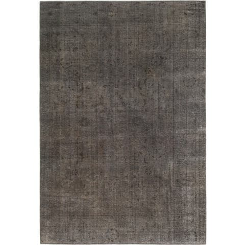 Hand Knotted Ultra Vintage Wool Runner Rug - 8' 4 x 12' 5