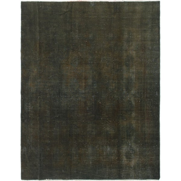 Hand Knotted Ultra Vintage Wool Area Rug - 6' 10 x 8' 10