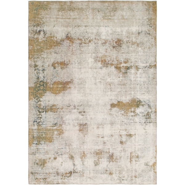 Hand Knotted Ultra Vintage Wool Area Rug - 9' 9 x 14'