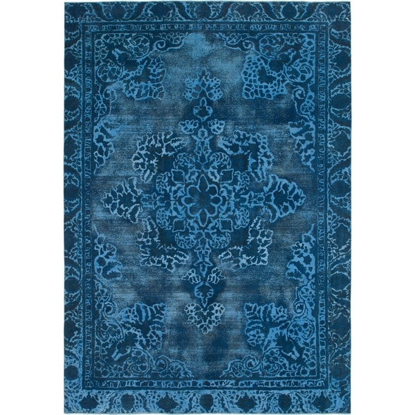 Hand Knotted Ultra Vintage Wool Area Rug - 8' 10 x 12' 9