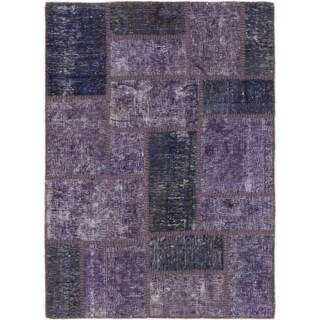 Hand Knotted Ultra Vintage Wool Area Rug - 2' 10 x 4'