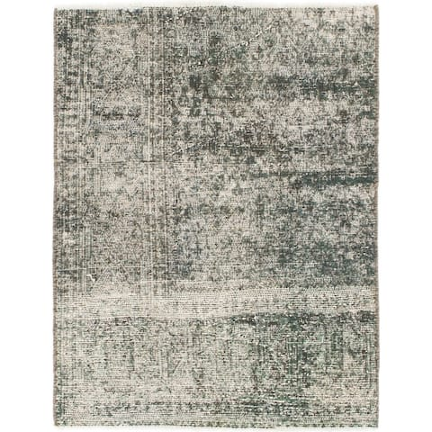 Hand Knotted Ultra Vintage Wool Area Rug - 3' 3 x 4'