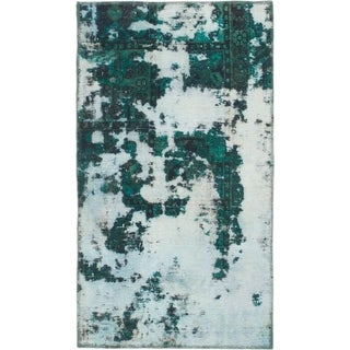 Hand Knotted Ultra Vintage Wool Area Rug - 2' 5 x 4' 3