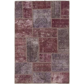 Hand Knotted Ultra Vintage Wool Area Rug - 3' x 4' 4