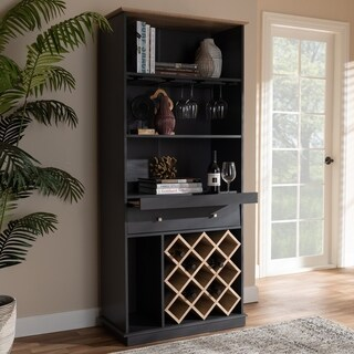 Mid-Century Wine Cabinet by Baxton Studio