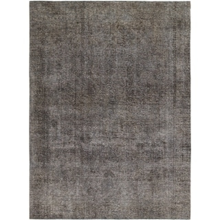Hand Knotted Ultra Vintage Wool Area Rug - 7' 6 x 10' 2