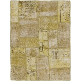 Hand Knotted Ultra Vintage Wool Area Rug - 3' 2 x 4' 2