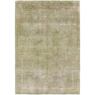 Hand Knotted Ultra Vintage Wool Area Rug - 4' 2 x 6'
