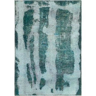 Hand Knotted Ultra Vintage Wool Area Rug - 3' x 4' 5