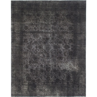 Hand Knotted Ultra Vintage Wool Area Rug - 9' 6 x 12' 3