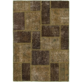 Hand Knotted Ultra Vintage Wool Area Rug - 2' 10 x 4' 2