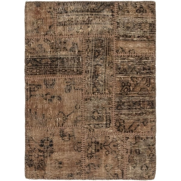 Hand Knotted Ultra Vintage Wool Area Rug - 2' 2 x 3'