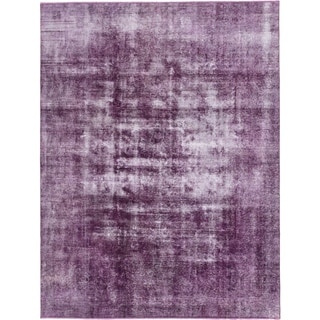 Hand Knotted Ultra Vintage Wool Area Rug - 8' 3 x 10' 10