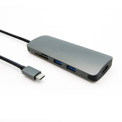 Fuji Labs USB 3.1 Type-C 6-in-1 Hub Adapter, to 2 USB