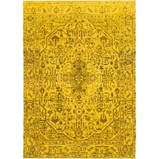 Hand Knotted Ultra Vintage Wool Area Rug - 7' 10 x 11' 4