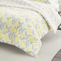 Laura Ashley Serena Yellow Duvet Cover Set