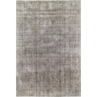 Hand Knotted Ultra Vintage Wool Area Rug - 6' 6 x 9' 9