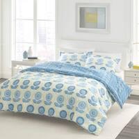 Laura Ashley Sunflower Blue Duvet Cover Set