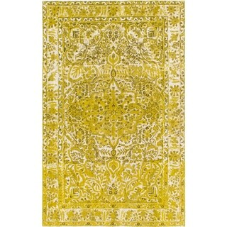 Hand Knotted Ultra Vintage Wool Area Rug - 6' 3 x 9' 9