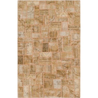 Hand Knotted Ultra Vintage Wool Area Rug - 6' 7 x 10' 2