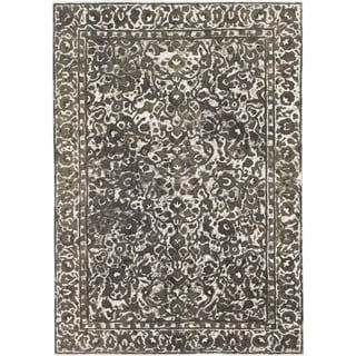 Hand Knotted Ultra Vintage Wool Area Rug - 7' 6 x 10' 8