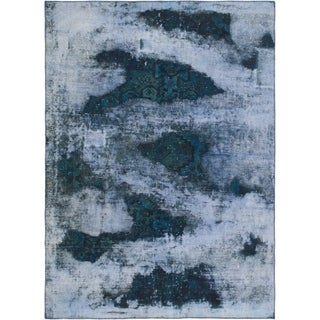 Hand Knotted Ultra Vintage Wool Area Rug - 6' 6 x 9'