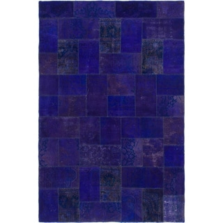 Hand Knotted Ultra Vintage Wool Area Rug - 6' 10 x 10' 5