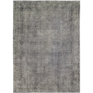 Hand Knotted Ultra Vintage Wool Area Rug - 7' 10 x 11'
