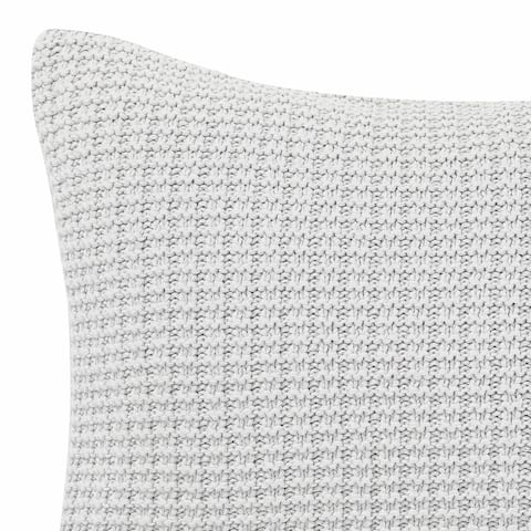 Laura Ashley Waffle Knit Throw Pillow