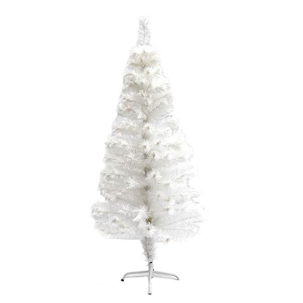 Shop ALEKO Fiber Optic Artificial Christmas Tree With