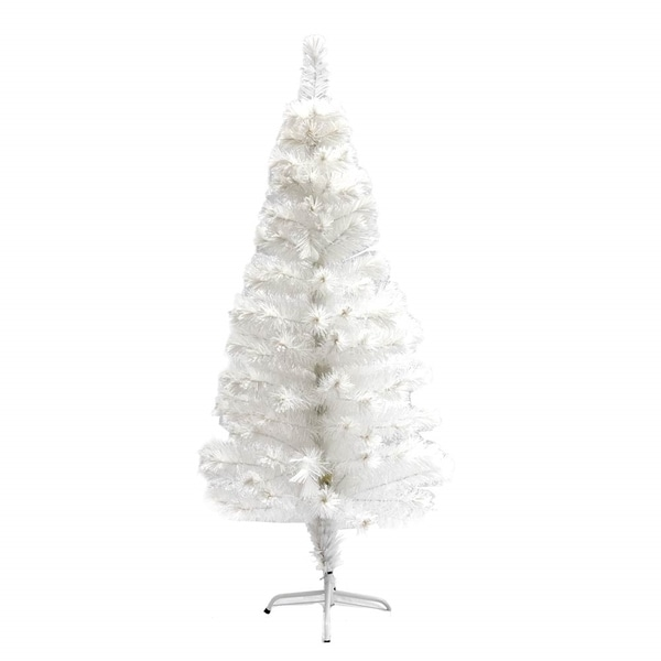 Christmas Tree Fiber Optic Lights: Shop ALEKO Fiber Optic Artificial Christmas Tree With