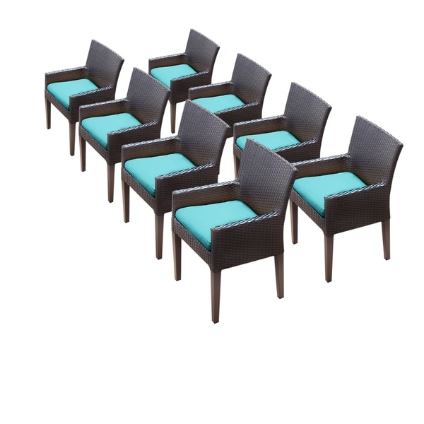 8 Barbados/Belle/Napa Dining Chairs With Arms