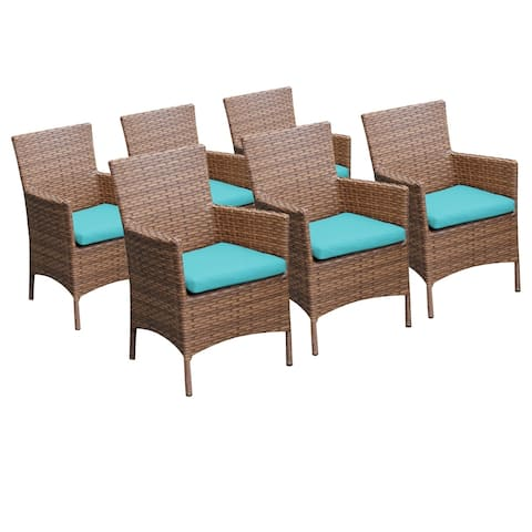 6 Laguna Dining Chairs With Arms