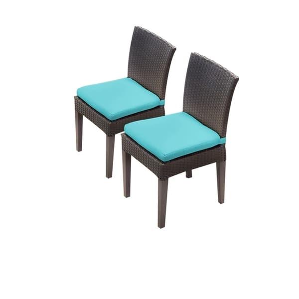 Groovy Shop Tk Classics Barbados Belle Napa Brown Wicker Armless Creativecarmelina Interior Chair Design Creativecarmelinacom