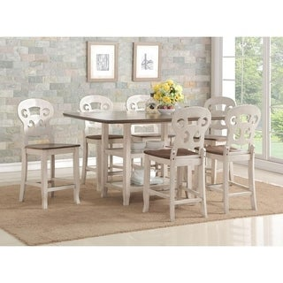 Cameo Two-Toned Counter Height Dining Set 7pc